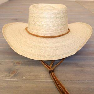 Atwood Palm Leaf Straw Hat - Pinedale